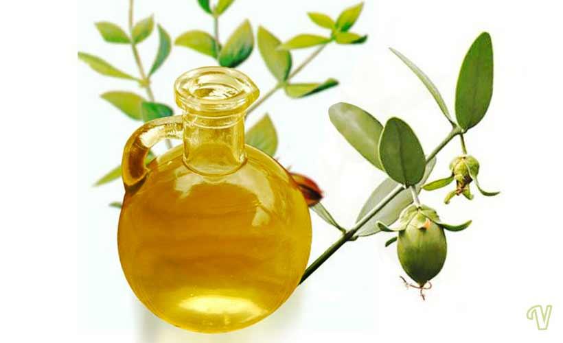 olio di jojoba naturale