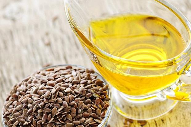 olio di semi di lino per capelli